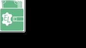 Lederbörse Logo